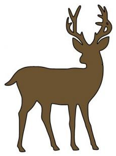 230x308 Deer Hunt Svg Dxf File Instant Download Silhouette Cameo Cricut