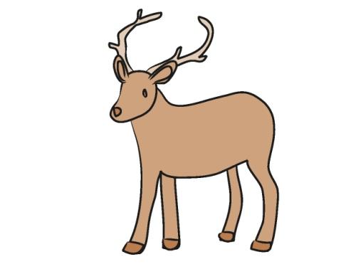 500x375 Deer Clip Art Pictures 101 Clip Art