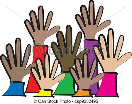 450x354 Hand Clipart Multicultural Free Collection Download And Share