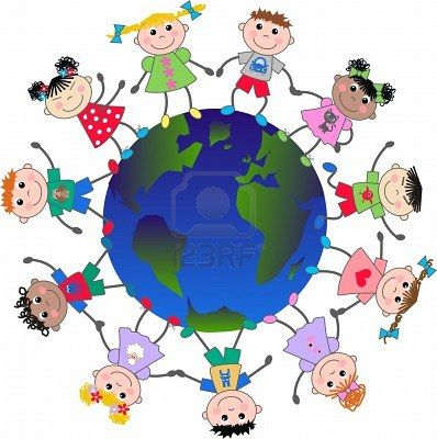 398x400 Multicultural Clip Art Sample Cultures From Around The World