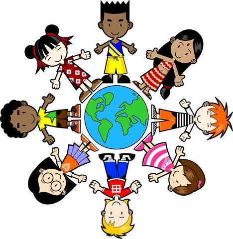 Multicultural Clipart