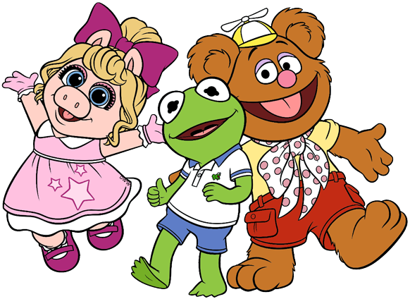 582x424 Disney Junior's Muppet Babies Clip Art Disney Clip Art Galore