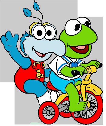 350x416 Muppet Babies Cartoon Characters Clipart