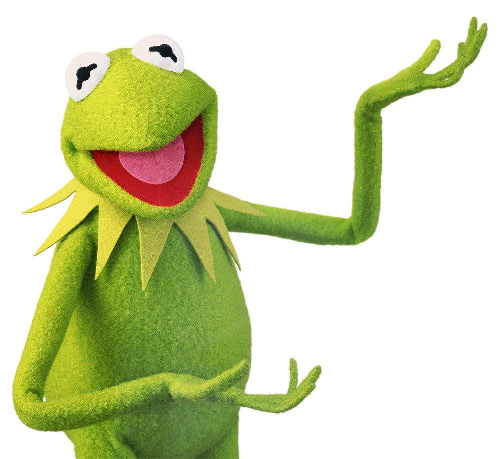 1000x917 Kermit The Frog Clipart