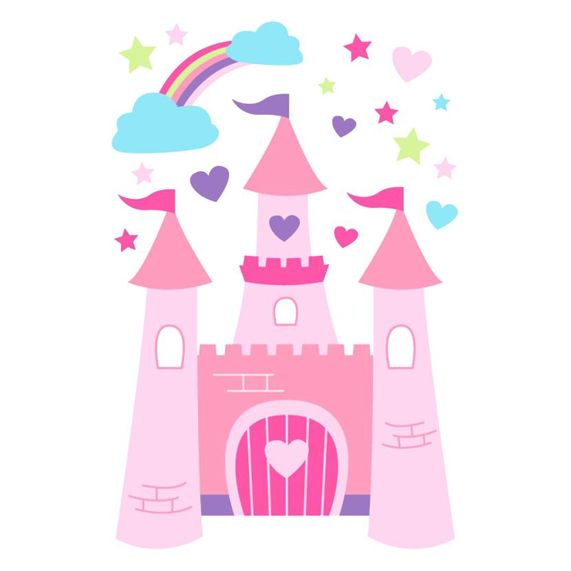 830x830 Princess Castle Clip Art Princess Castle Mural Castle Princess