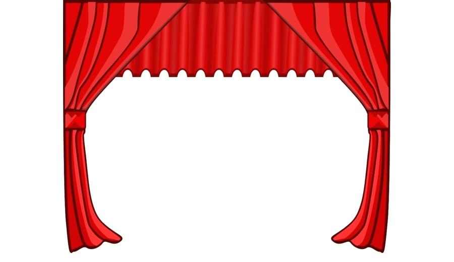 900x520 Window Art Curtains Talent Show Royalty Free Clip Art Curtains