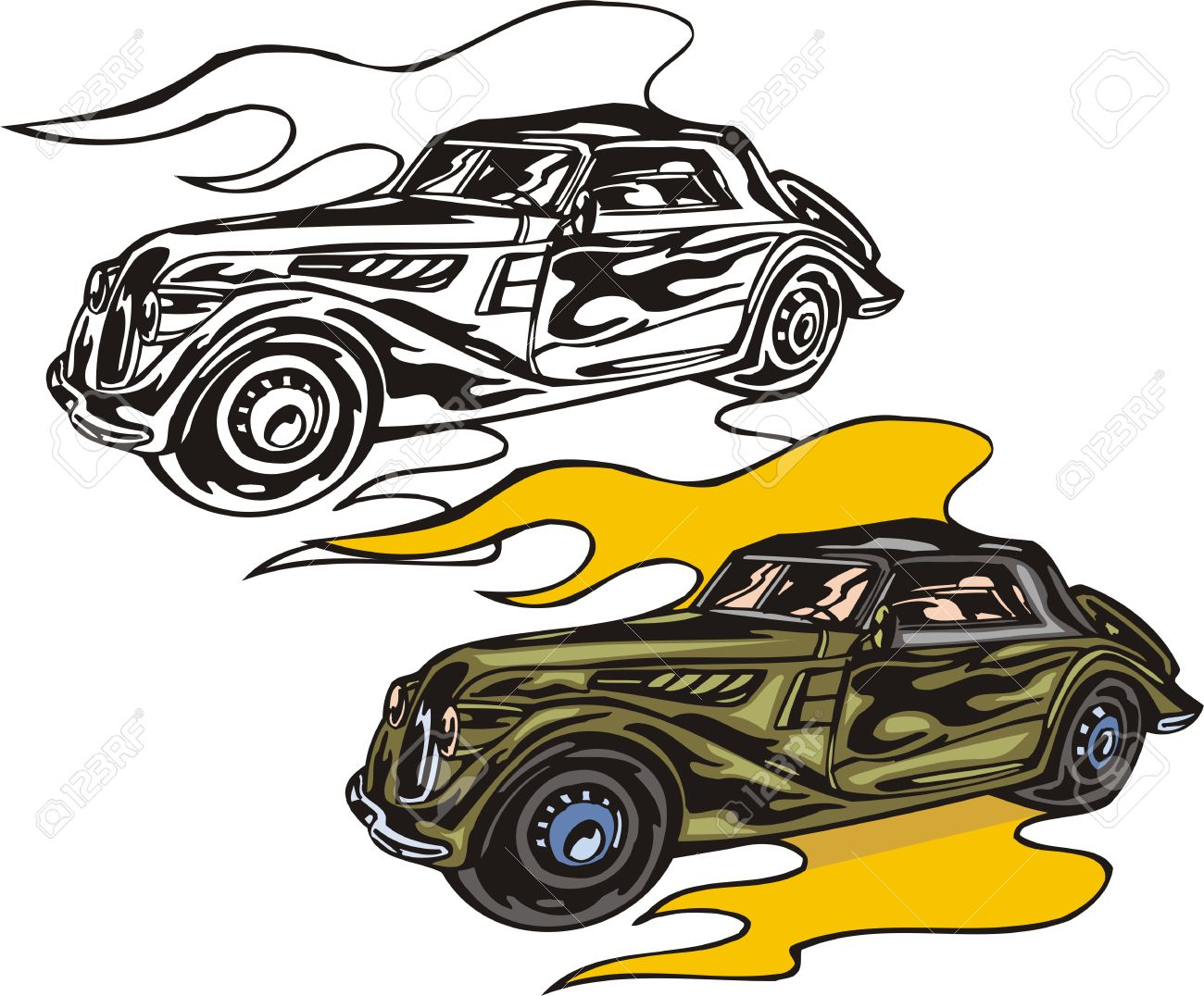 1300x1076 Flame Clipart Drag Racing