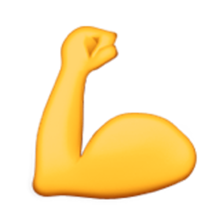 740x740 Bicep Muscle Transparent Png