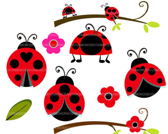 340x270 Mushroom Clipart Lady Beetle Free Collection Download And Share