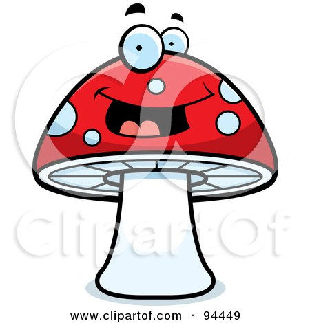 450x470 Royalty Free (Rf) Toadstool Clipart, Illustrations, Vector Graphics