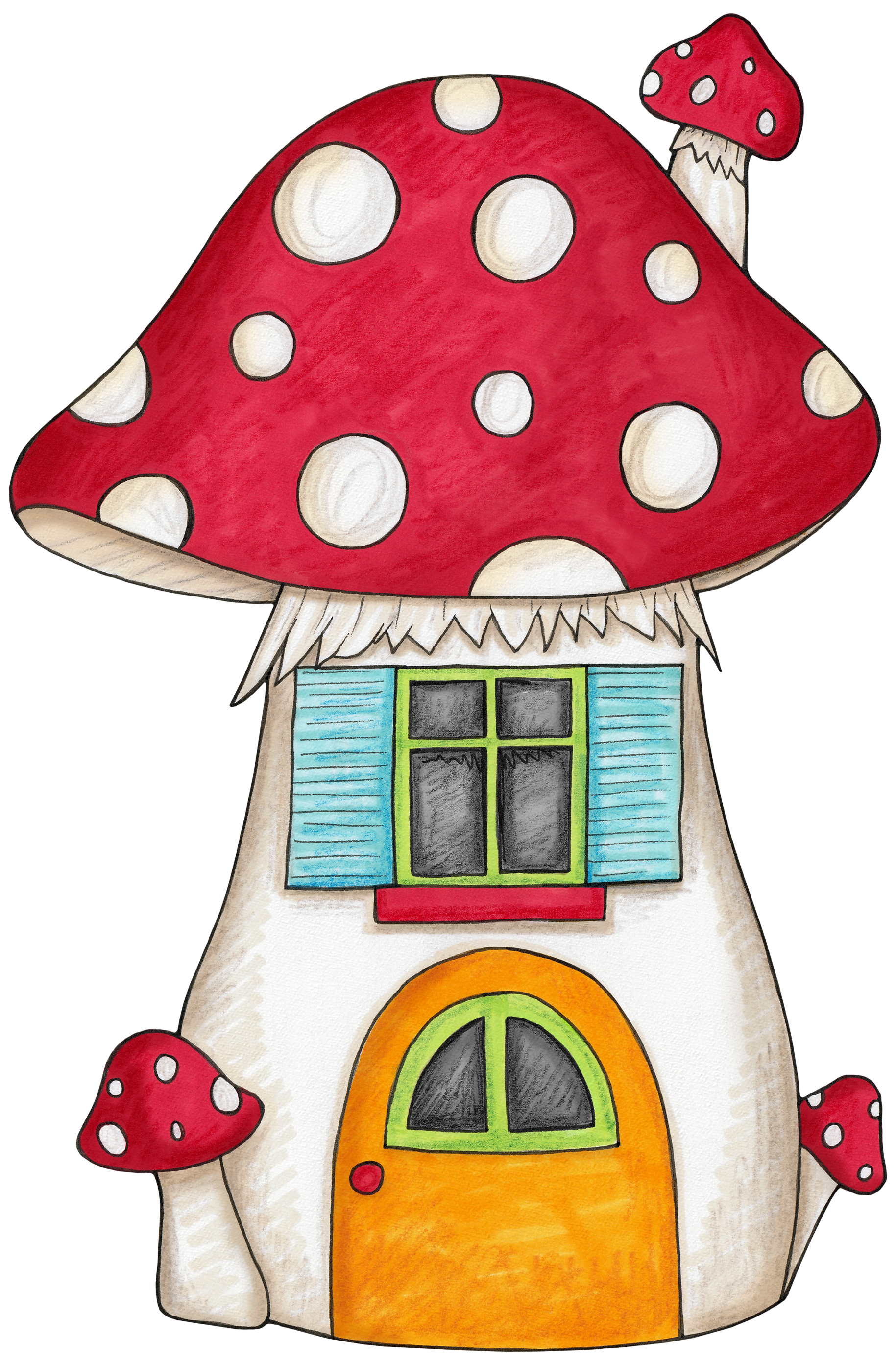 1829x2787 Mushroom House For An Enchanted Forest Woodland Themed Party