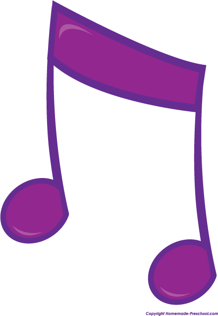 440x639 Free Music Notes Clipart