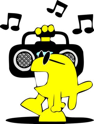305x400 Boom Box 2 Music Clip Art Fumetto Clip Art, Free