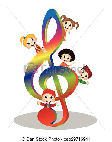 371x470 Kids And Clef Music