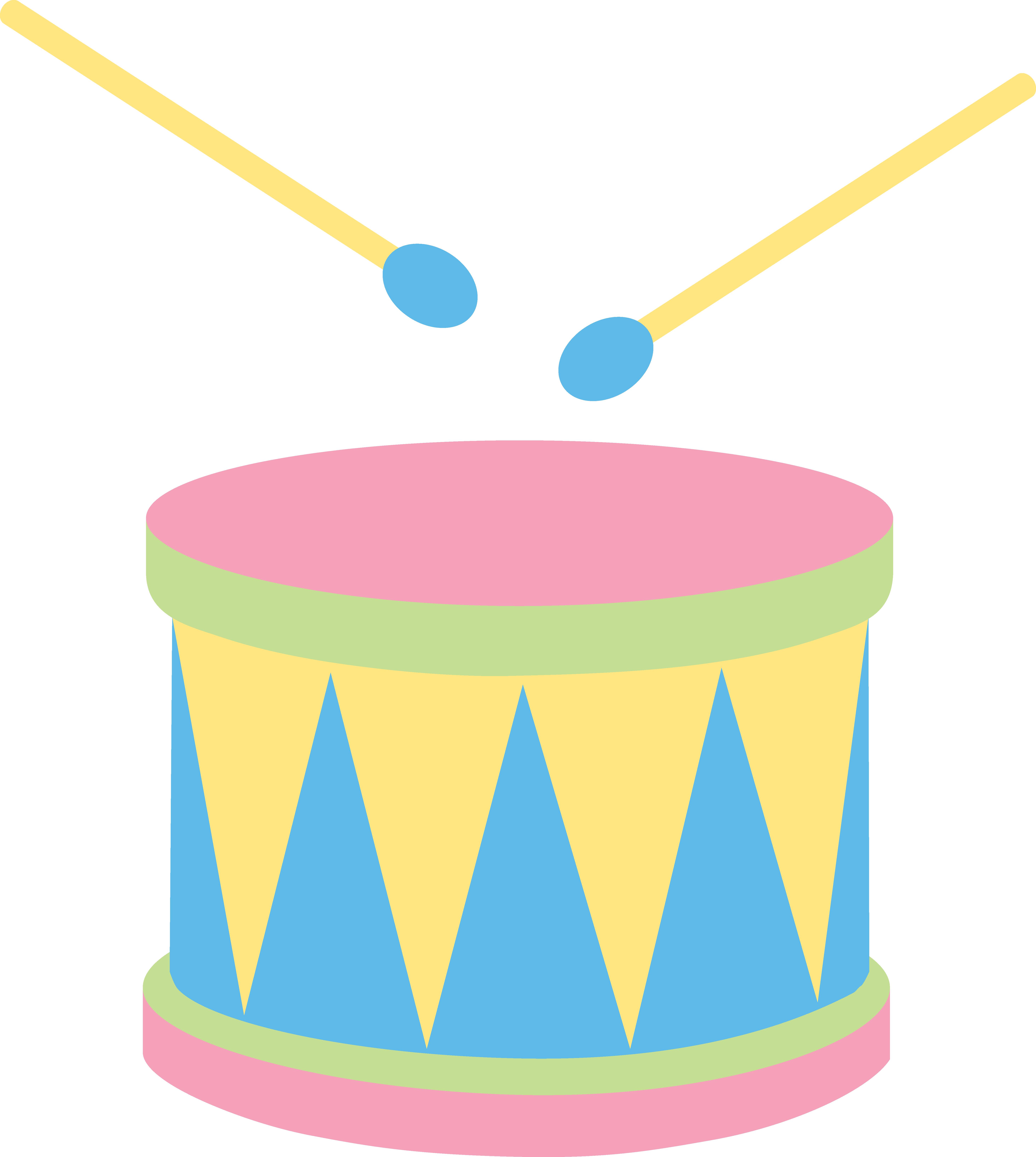5853x6534 Pastel Kids Drum