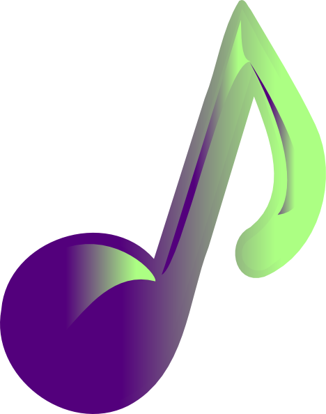 468x594 Music Note Clipart