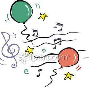 300x295 Sheet Music Notes Clipart