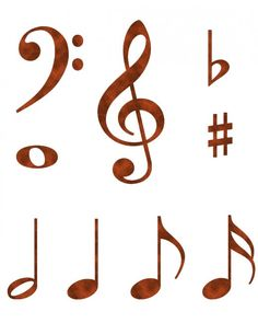 236x295 Different Music Notes