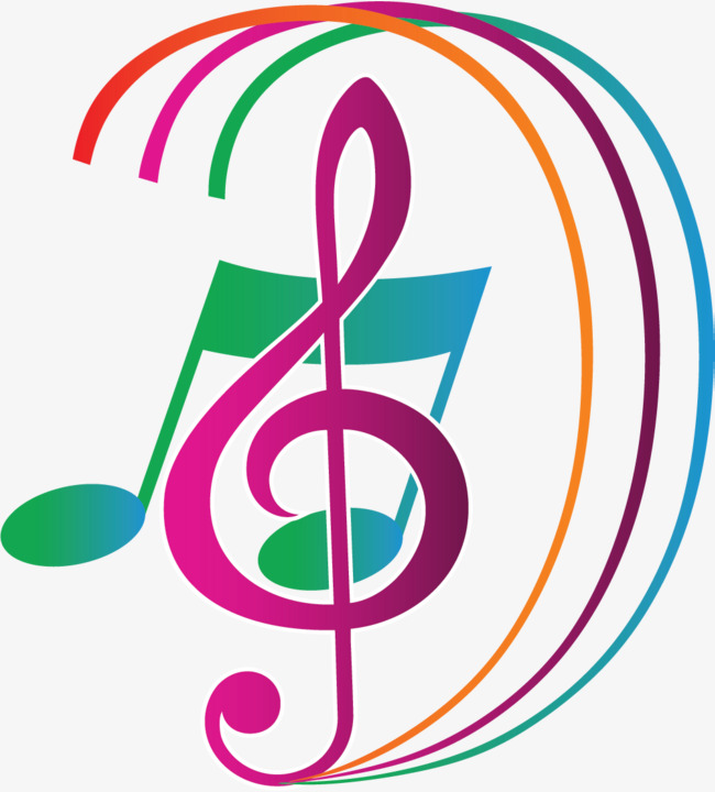 650x720 Color Music Symbols, Note, Music, Sing Png Image And Clipart
