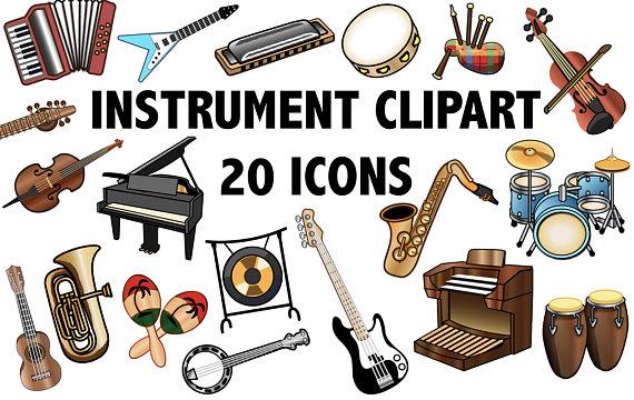 570x360 Instrument Clipart Band Clipart Music Clip Art Instrument