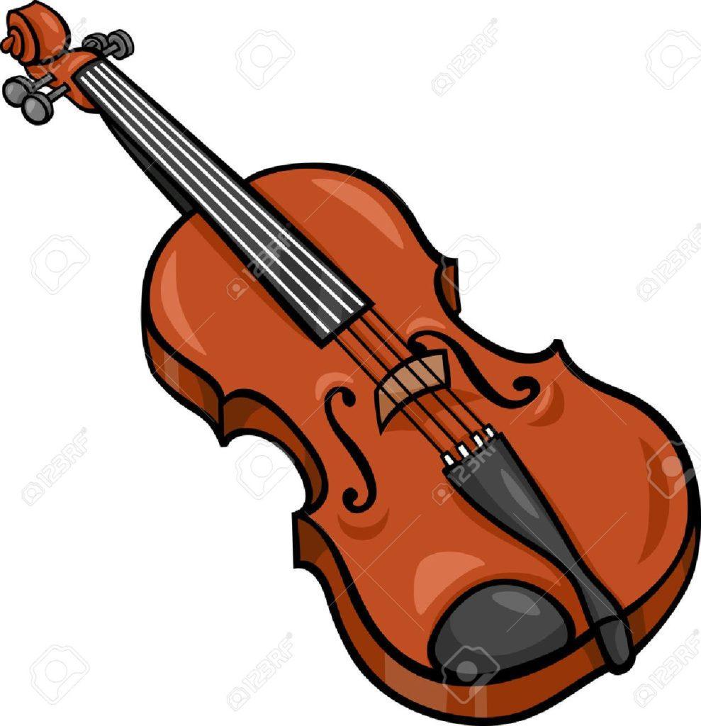 989x1024 Clipart Of Violin