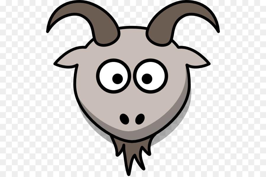 900x600 Goat Cartoon Clip Art