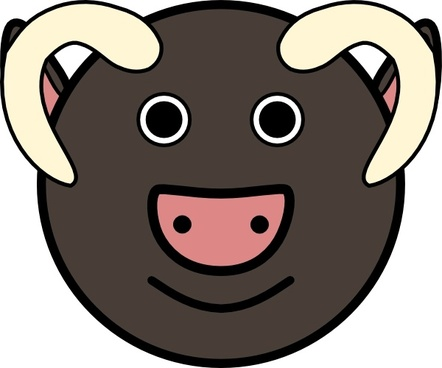 442x368 Musk Ox Free Vector Download (36 Free Vector) For Commercial Use