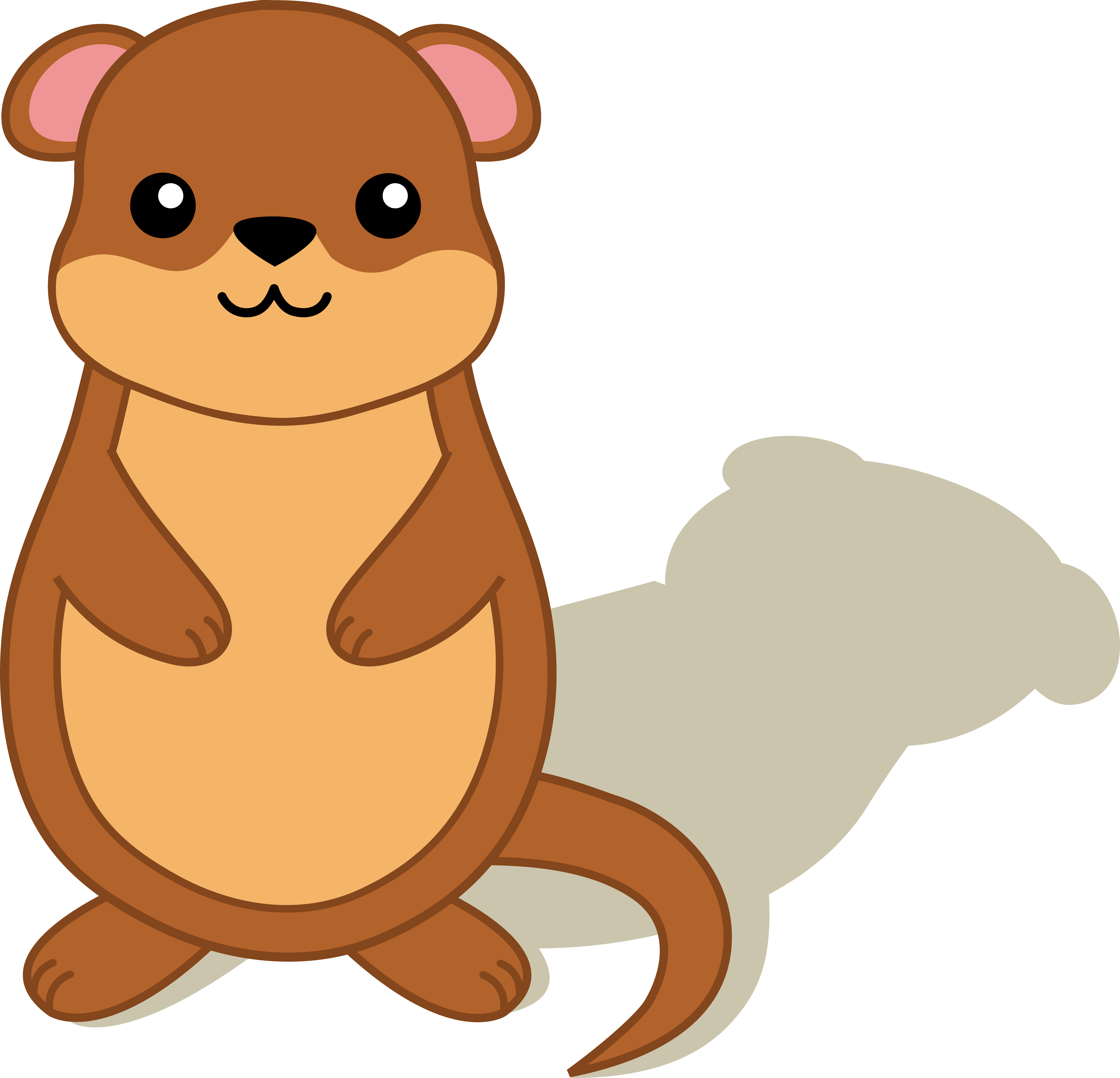 6146x5917 Groundhog Pictures Free Fresh With Shadow Clip Art