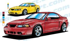 236x141 1969 Ford Mustang Mach 1 Vector Clip Art Ford Mustang, Mustang