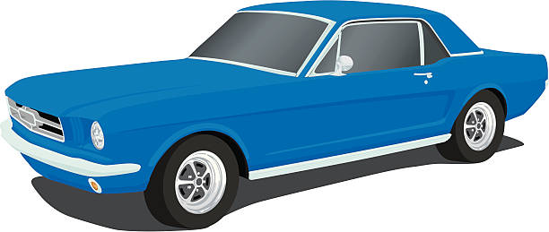 612x259 Collection Of Blue Mustang Clipart High Quality, Free