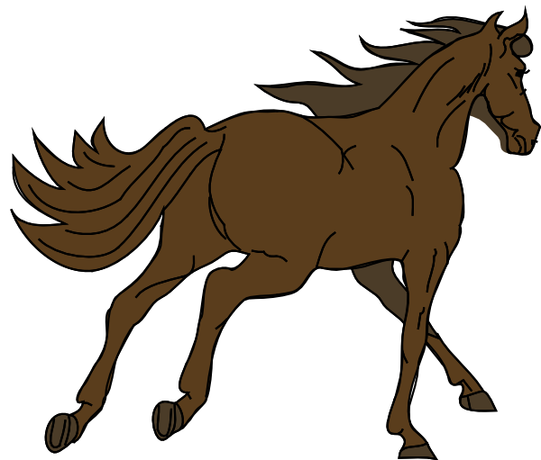 600x511 Horse Free To Use Clip Art 2
