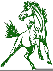 226x300 Mustang School Mascot Clipart Free Images