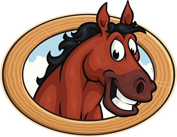 612x474 Beautiful Mustang Horse Clipart Royalty Free Horse Smile Clip Art
