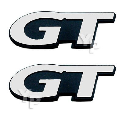 400x400 1999 2004 Mustang Gt Exterior Emblems In Chrome
