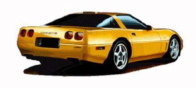 400x181 Corvette Clipart