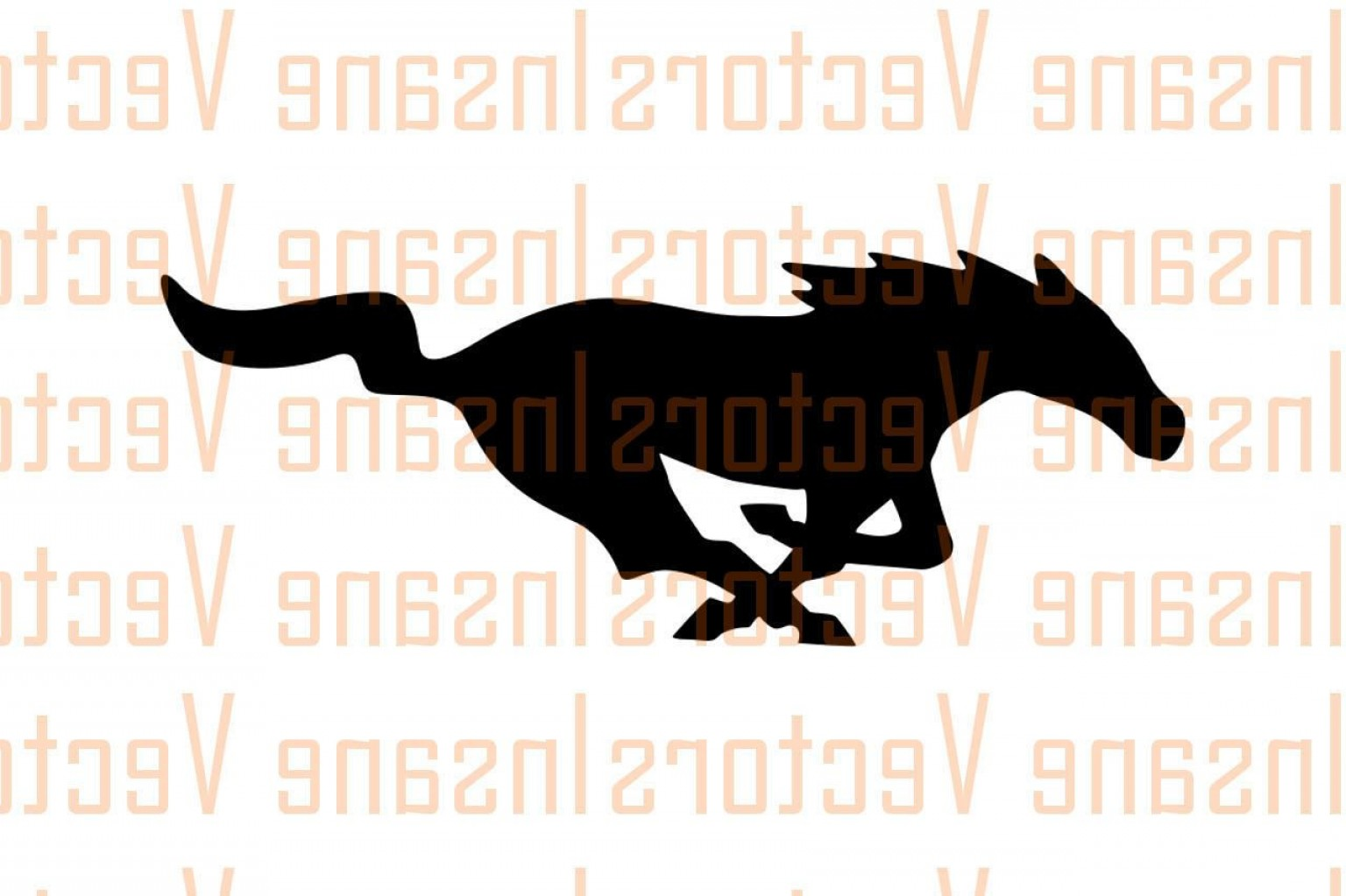 1536x1023 Mustang Vector Clip Art Arenawp