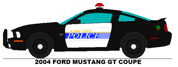 583x222 Acre City Police Ford Mustang Gt By Misterpsychopath3001