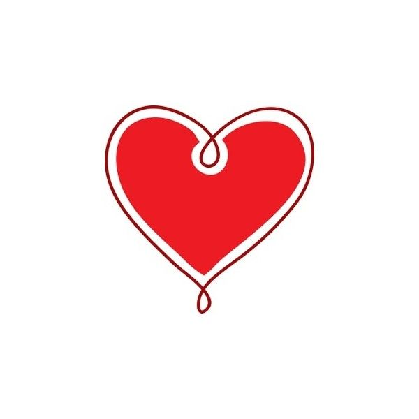 600x600 Heart Clipart Image