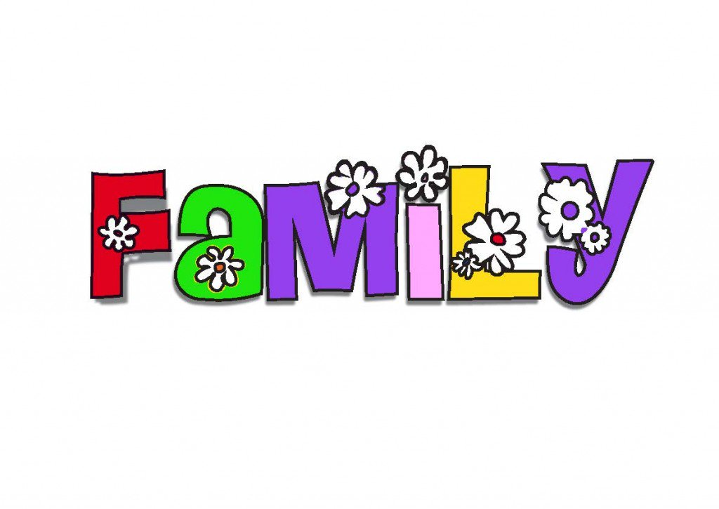 1024x725 20 X My Family School Clipart