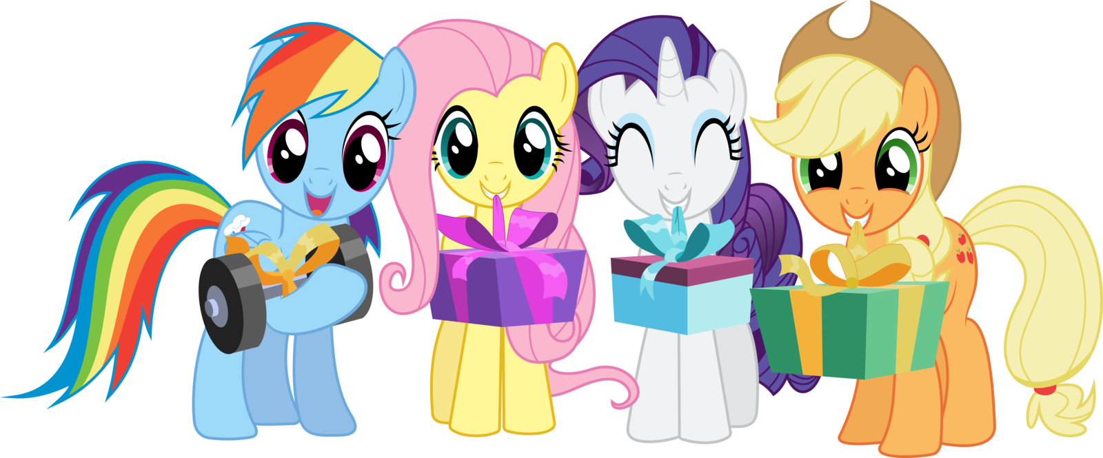1600x665 Happy Birthday By Tgolyi On My Little Pony Party