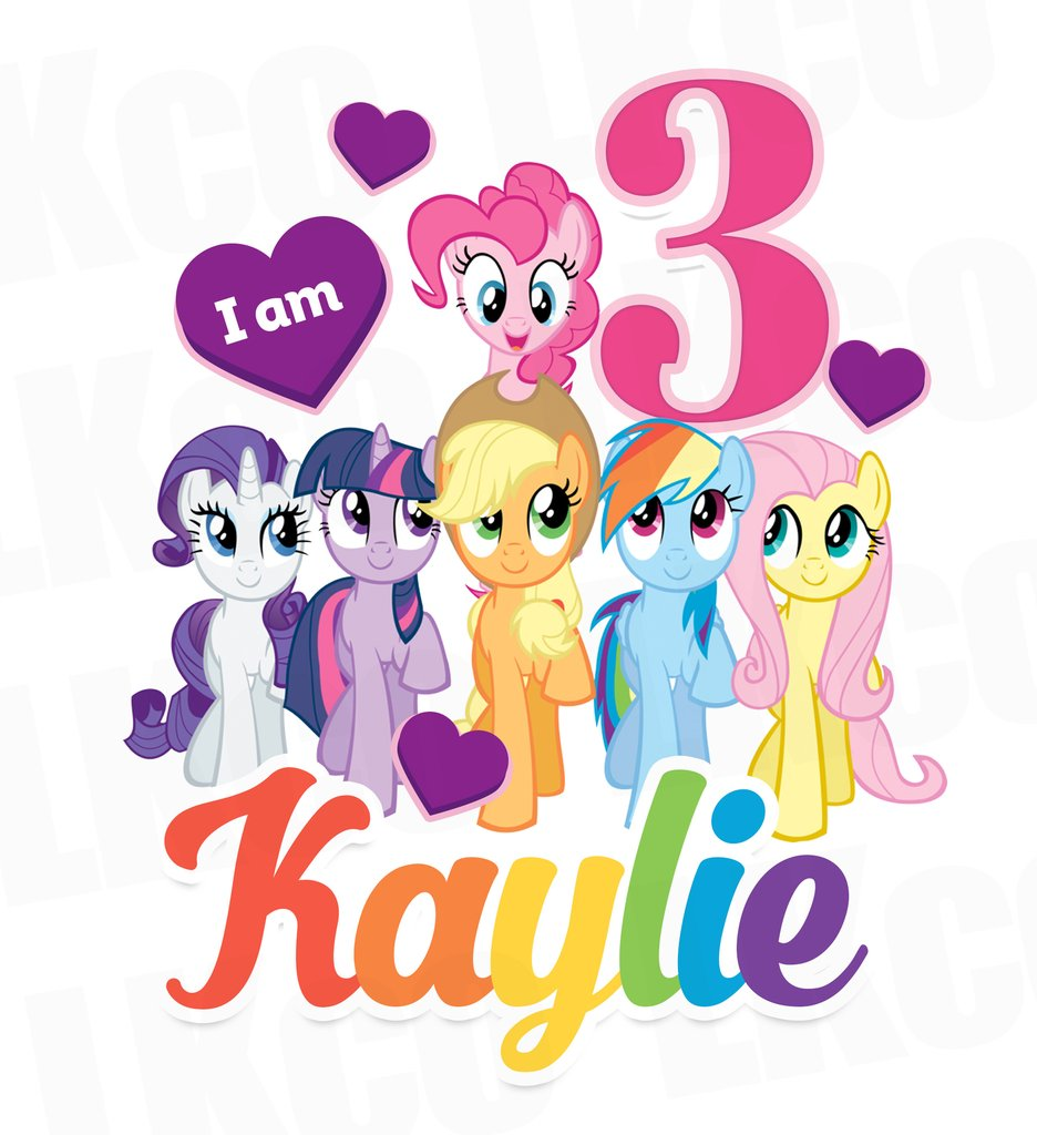 936x1024 My Little Pony Birthday Shirt Transfer Rainbow Birthday Girl