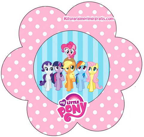 482x457 My Little Pony Free Printable Mini Kit.