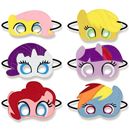 425x425 Girls Birthday Party Favors Felt Masks Novelty Toys