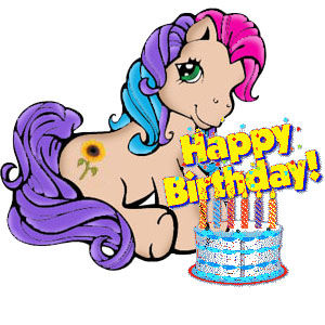 300x300 My Little Pony Clipart Happy Birthday Free Collection Download