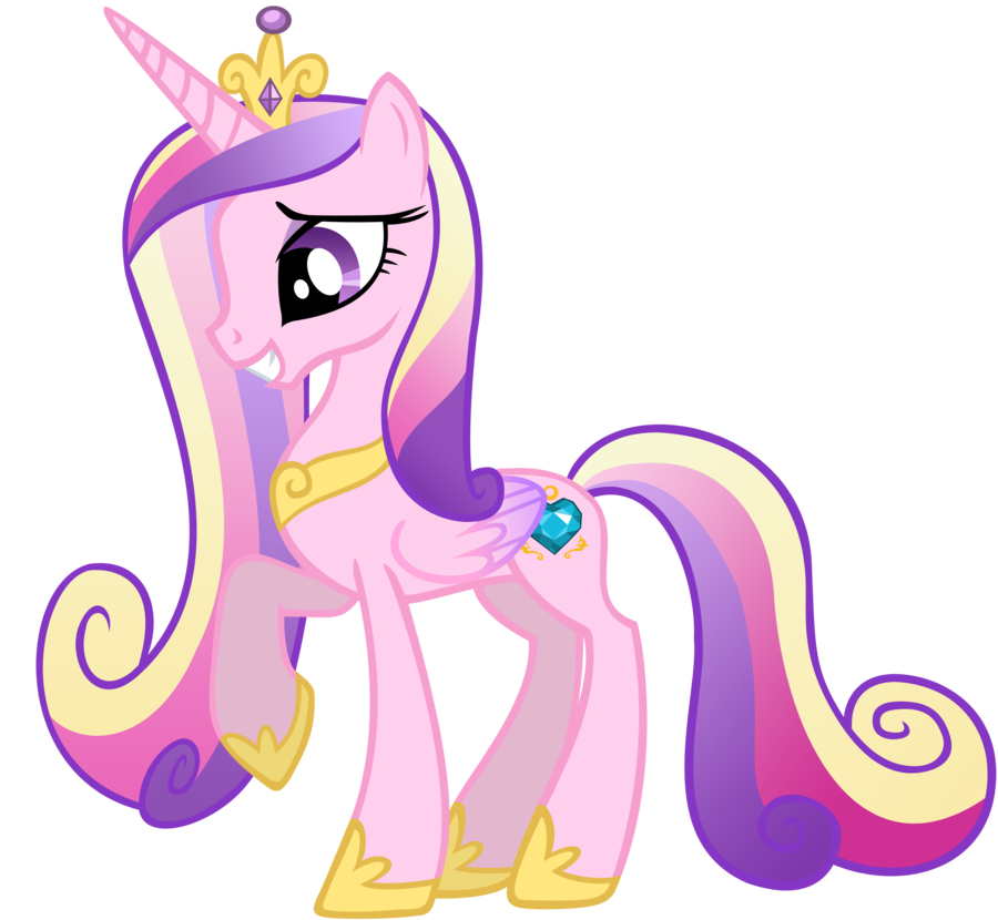 900x830 My Little Pony Friendship Princess Cadence Clipart