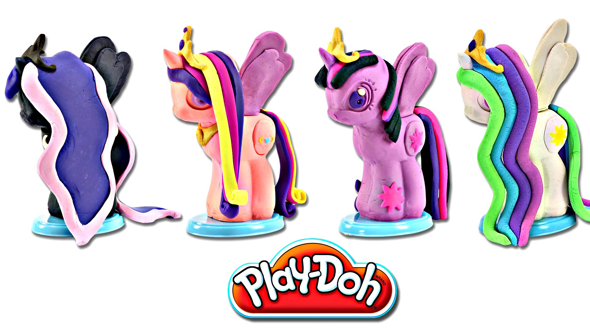1920x1080 Play Doh My Little Pony Make N' Style Ponies