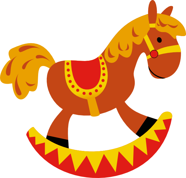 600x572 Pony Clipart Collection