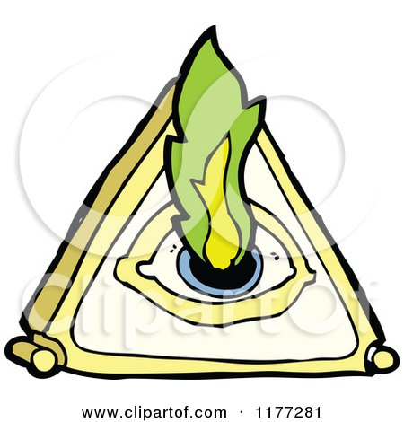 450x470 Cartoon Of A Mystical All Seeing Eye