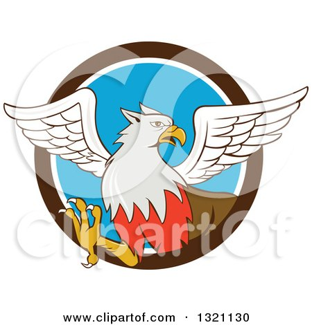 450x470 Clipart Of A Cartoon Rampant Hippogriff Mythical Creature