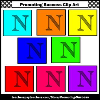 350x350 Letter N Clipart, Alphabet Clip Art, Letter Sounds Sps By